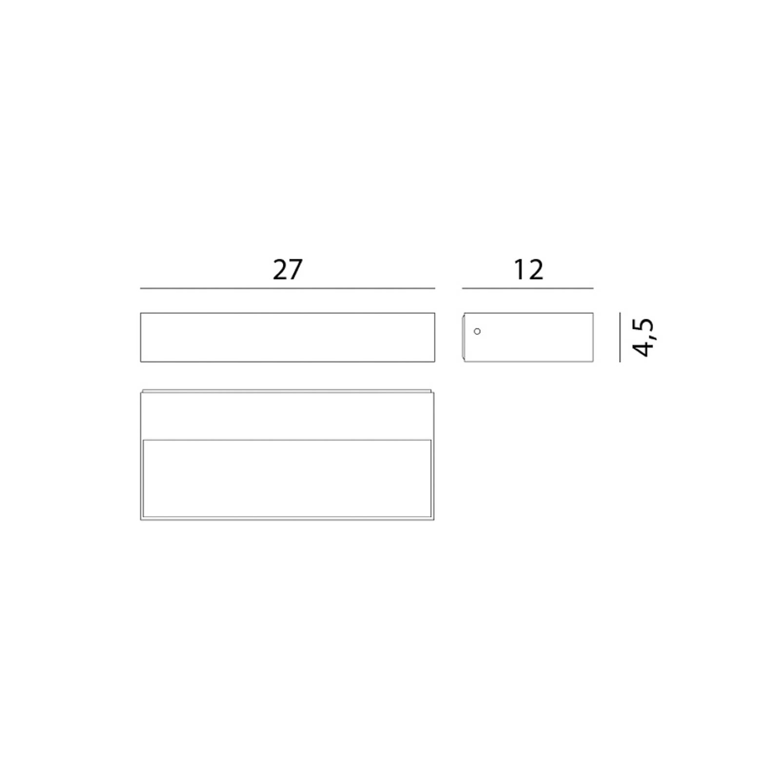 Rotaliana InOut W2 Indoor LED-Wandleuchte 2.700K von Rotaliana