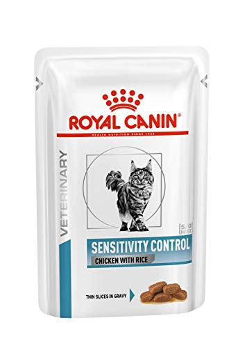 Royal Canin Cat Sensitivity Control Chicken und Rice, 1er Pack (12 x 85 gms) von ROYAL CANIN