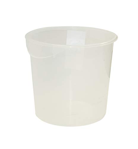 Rubbermaid Commercial Products 17L Round Storage Container - Clear von Newell Rubbermaid