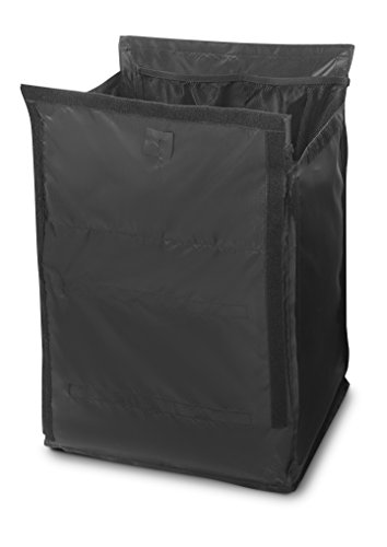 Rubbermaid 1902701 Quick Cart Replacement Liner (Large, Pack of 6) Black von Rubbermaid Commercial Products