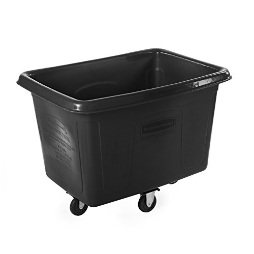 Rubbermaid 0.4m Cube Truck - Black von Rubbermaid Commercial Products