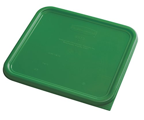 Rubbermaid Commercial Food Storage Container Lid, Square, Green, 11.4 L von Rubbermaid Commercial Products