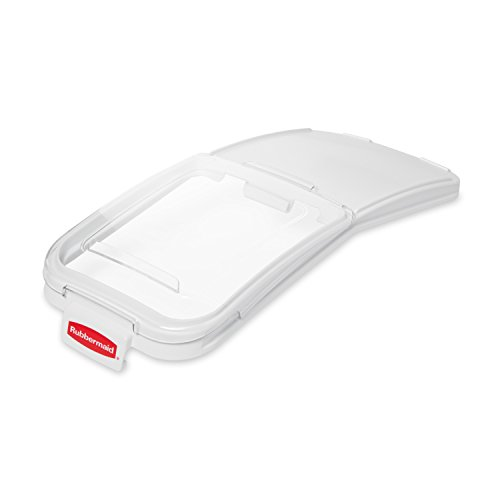 Rubbermaid ProSave Sliding Lid with 0.9 Litre Scoop for FG360088 Ingredient Bin - Clear von Rubbermaid Commercial Products