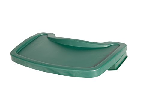 Rubbermaid Sturdy Baby Chair Tray - Dark Green von Rubbermaid Commercial Products