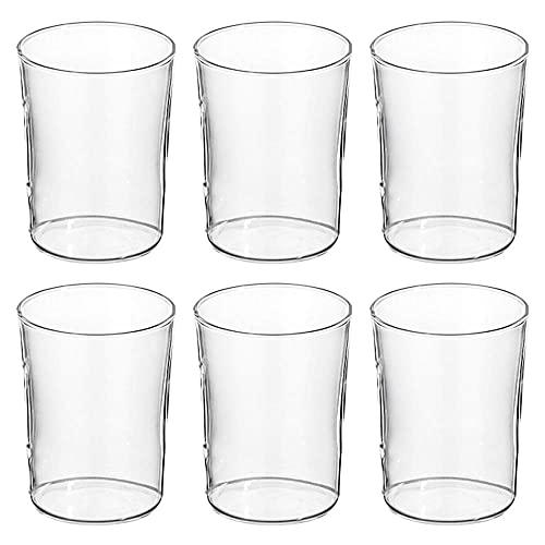konisch klar SIMAX 022 004 001 Teeglas mit Henkel Glas 200 ml 6er Pack