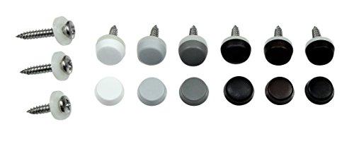 L/änge: 35mm /Öse: 14mm wei/ß Pulverbeschichtet 10 St/ück SN-TEC Ringschraube//Decken/öse//Ring/öse geschlossen mit Holzgewinde