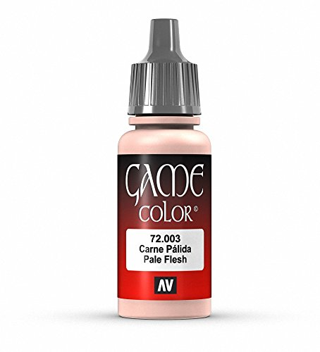 Vallejo Game Farbe, 17-ml-Acrylfarbe Pale Flesh von Vallejo