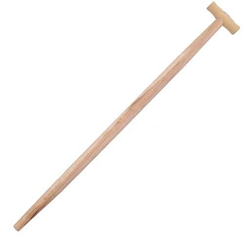 Axtstiel 90cm Ersatzstiel Buche Flach profiliert 90mm mit Kuhfu/ß Kuhfu/ßform 50cm