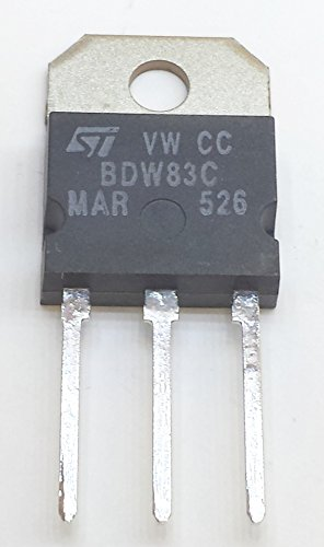 8 Stück BDW83C NPN SILICON POWER DARLINGTON TRANSISTOR | VCEO 100V | Ic 15A | Ptot 130W | TO-218 Gehäuse von STMicroelectronics