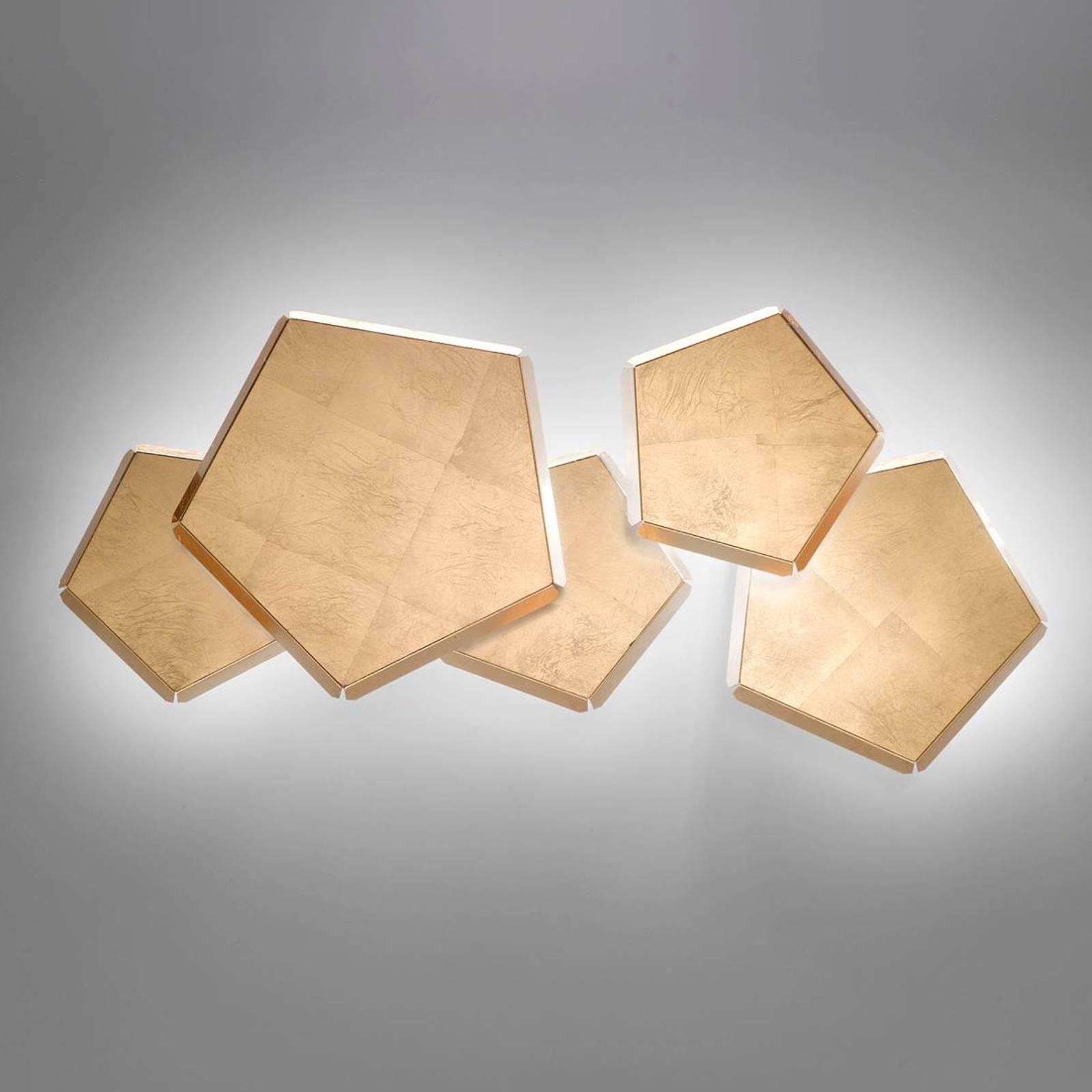 Selene ionische Applique 80 W Blattgold