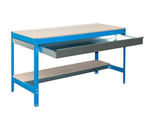 simonrack 778100945127592/Kit BT//3/Box 1200/Kit D Werkbank verzinkt,//Holz