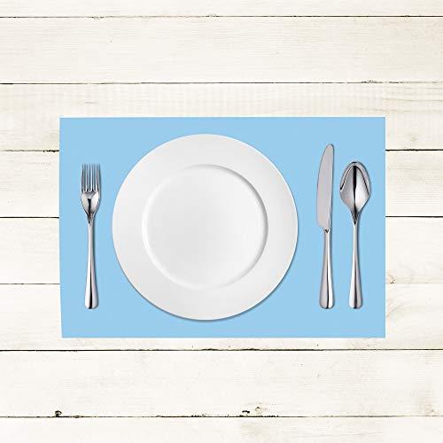 100 Tischset Violett aus Linclass® Airlaid 40 x 30 cm Einweg Platzdeckchen