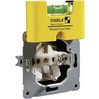 Stabila POCKET ELECTRIC 17775 Mini-Wasserwaage 70mm 1 mm/m von Stabila