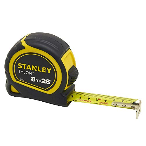 Stanley - Pocket Tape 8m/26ft 25mm Carded 0-30-656 - STA030656N von Stanley