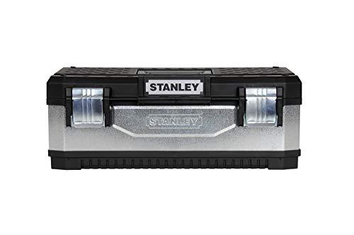 0-22-473 200 mm Klingenl/änge, Karbon-Stahl, ergonomischer Bi-Material Handgriff Hieb 1 Stanley Rundraspel