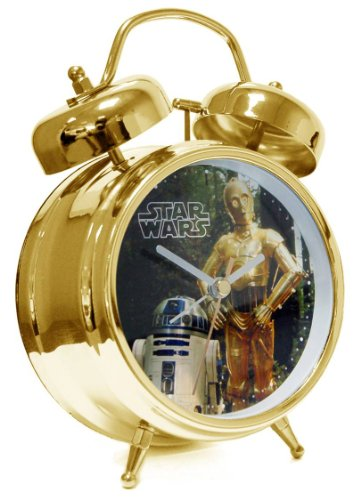 Star Wars Wecker R2D2 C3PO Analog 21601 von Star Wars