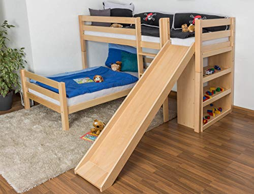 Etagenbett Moritz Kiefer Massiv Weiß 90 Cm : Bett kiefer inspiring bilder etagenbett kilian