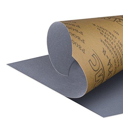 Schleifpapier 1500 bis 7000 Körnung Nass Trocken Auto AluminiumoxidSchleifer
