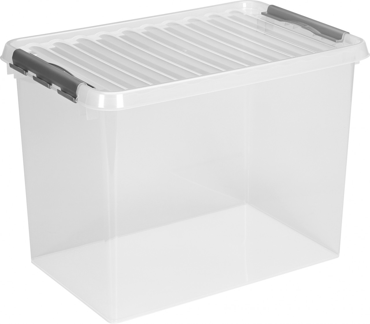 32 Liter transparent//metallic 60 x 40 x 18cm 6 x SUNWARE Q-Line Box