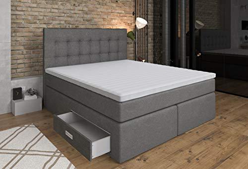 boxspringbetten und andere betten von tesladreams online kaufen bei m bel garten. Black Bedroom Furniture Sets. Home Design Ideas
