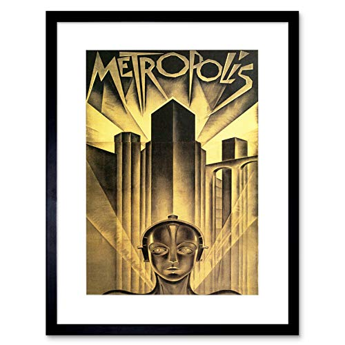 The Art Stop Movie Film Metropolis SCI FI Drama Dystopia Utopia LANG Framed Print B12X5545 von The Art Stop