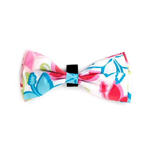 The Worthy Dog Bow Tie for Dogs, Large, Hibiscus von The Worthy Dog