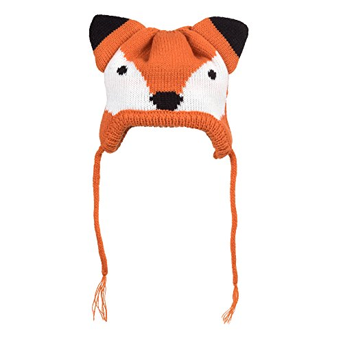 The Worthy Dog Die würdiger Hund Fox Hat für Hunde, Gr. XS, Orange von The Worthy Dog