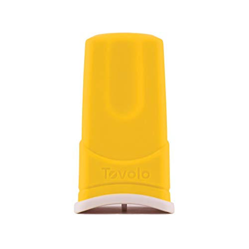 Tovolo Silicone Butter Sleeve, Mess-Free Butter Application, Dishwasher Safe, 1 Stick Capacity von Tovolo