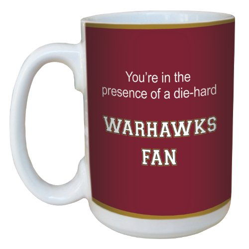 Tree-Free Greetings lm44765 Warhawks College Basketball Ceramic Mug with Full-Sized Handle, 15-Ounce von Tree-Free Greetings