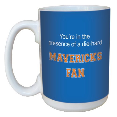 Tree-Free Greetings lm44915 Mavericks College Basketball Ceramic Mug with Full-Sized Handle, 15-Ounce von Tree-Free Greetings