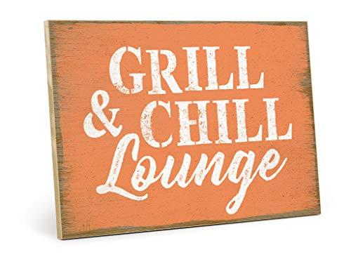 shabby vintage schild grill chill 28 images. Black Bedroom Furniture Sets. Home Design Ideas