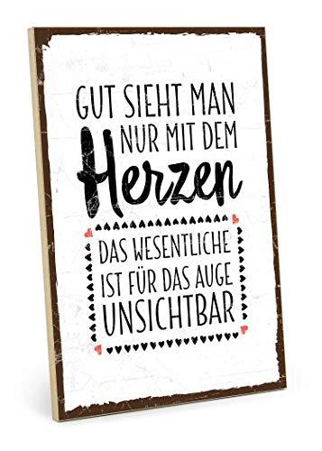 Holzschild Mit Spruch Die Kuche Sieht Aus Wie Sau Shabby Chic