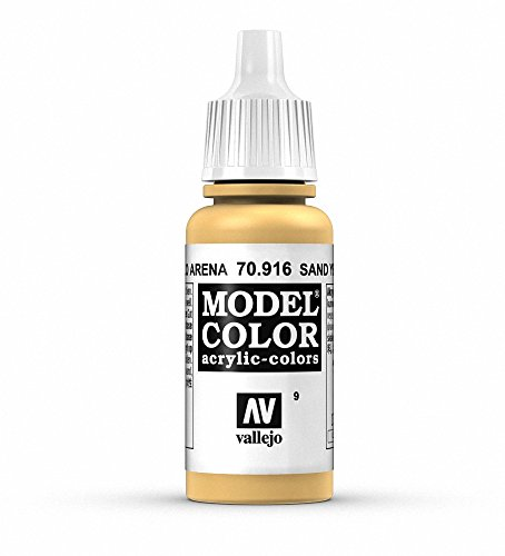 Vallejo, Model Color, Acrylfarbe, 17 ml Sandgelb von Vallejo