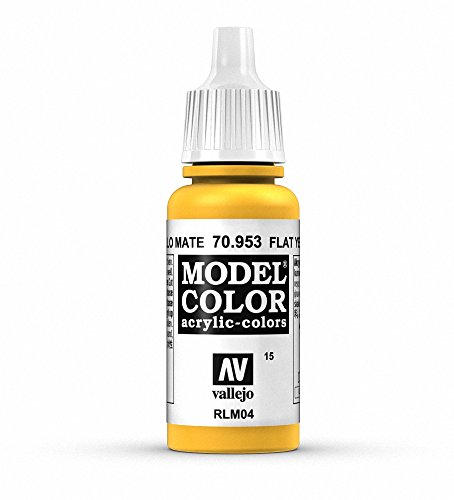 Vallejo, Model Color, Acrylfarbe, 17 ml Flach gelb von Vallejo