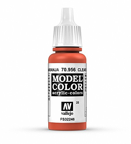 Vallejo, Model Color, Acrylfarbe, 17 ml Transparentes Orange von Vallejo