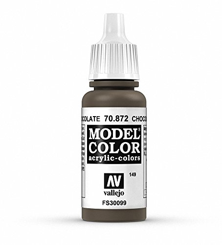 Vallejo, Model Color, Acrylfarbe, 17 ml Schokobraun von Vallejo