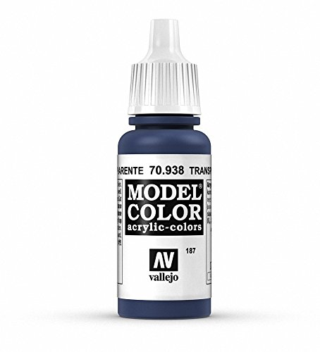Vallejo, Model Color, Acrylfarbe, 17 ml Trans Blue von Vallejo