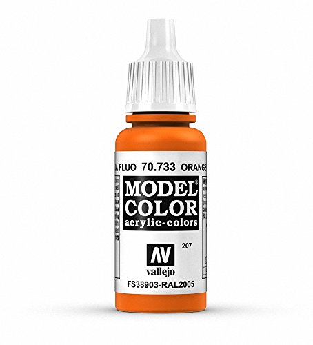 Vallejo, Model Color, Acrylfarbe, 17 ml Fluoreszierendes Orange von Vallejo
