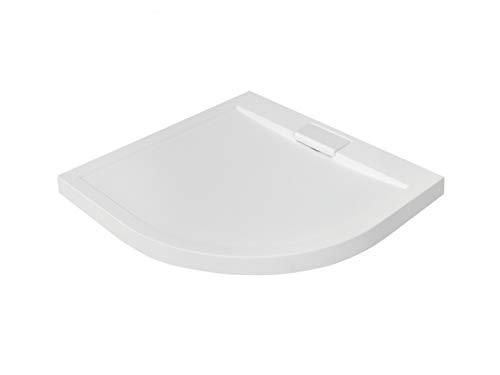 ® Duschwanne 80x140 cm reinweiß Duschtasse rechteckig extra flach Bad neu.haus