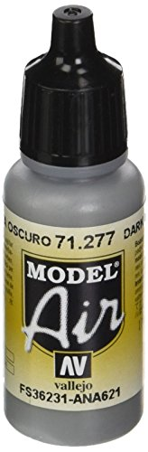 AV Vallejo (Modell Air 17 ml – Dark Gull Grau von Vallejo
