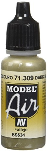 AV Vallejo (Modell Air 17 ml – Dark Slate Grau von Vallejo