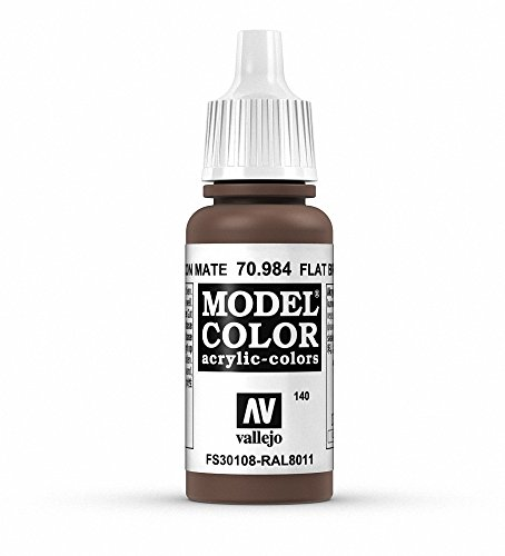 Vallejo, Model Color, Acrylfarbe, 17 ml Flachbraun von Vallejo