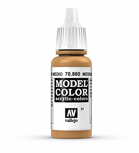 Vallejo, Model Color, Acrylfarbe, 17 ml Medium Fleshton von Vallejo