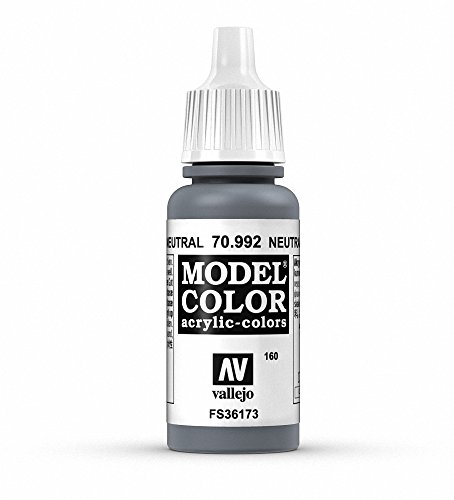 Vallejo, Model Color, Acrylfarbe, 17 ml Neutrales Grau von Vallejo