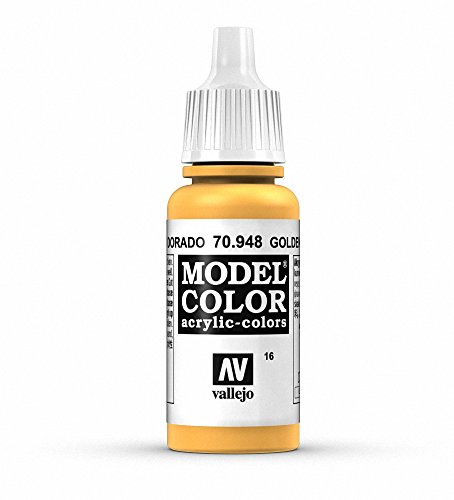 Vallejo, Model Color, Acrylfarbe, 17 ml goldgelb von Vallejo