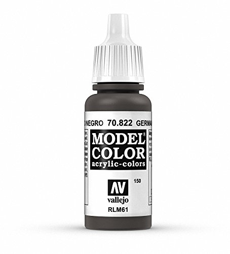 Vallejo, Model Color, Acrylfarbe, 17 ml German Cam Black Brown von Vallejo