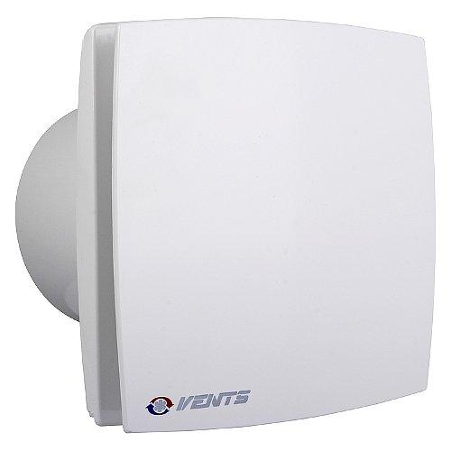 Bad Lüfter Ventilator Wandlüfter 100 125 150 VENTS LD T /LDA T Nachlauf  (Timer) (Weiss, Ø 125)