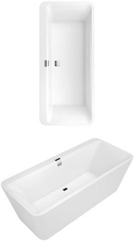 freistehende badewannen und weitere bad sanit r g nstig online kaufen bei m bel garten. Black Bedroom Furniture Sets. Home Design Ideas