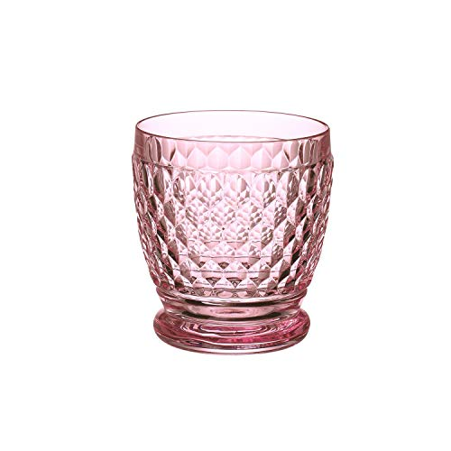 Villeroy & Boch Boston Coloured Becher Rose, Kristallglas, 100mm von Villeroy & Boch