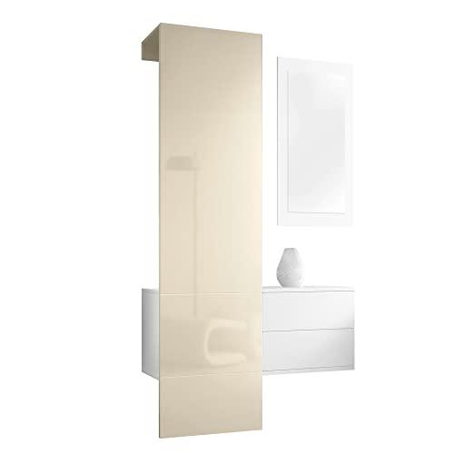 beige wandgarderoben paneele und weitere garderoben g nstig online kaufen bei m bel garten. Black Bedroom Furniture Sets. Home Design Ideas